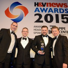 Matrix Energy Systems Ltd., alongside Viessmann, leading international manufacturers of heating, cooling and air-conditioning technology, has scooped one of the most highly acclaimed heating industry awards in the calendar by winning Renewable Project of the Year – Private Category at the recent H&V News Awards, held on April 16th at the Grosvenor House Hotel in London.